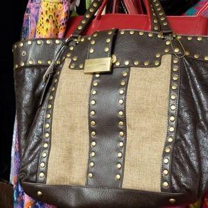 Aqua Madonna Bag 16x14
